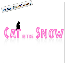 Cat In The Snow にしむらちえこ